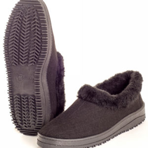 Туфли мужские суконно-меховые