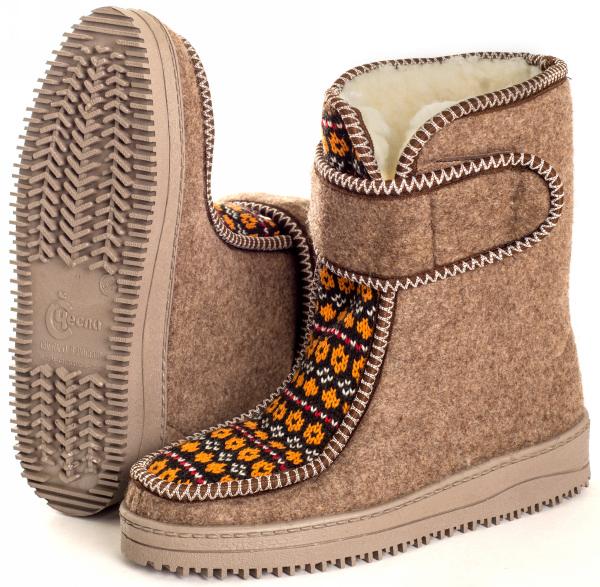 женская войлочная обувь оптом, каталог чесла.рф, производители женской войлочной обуви
