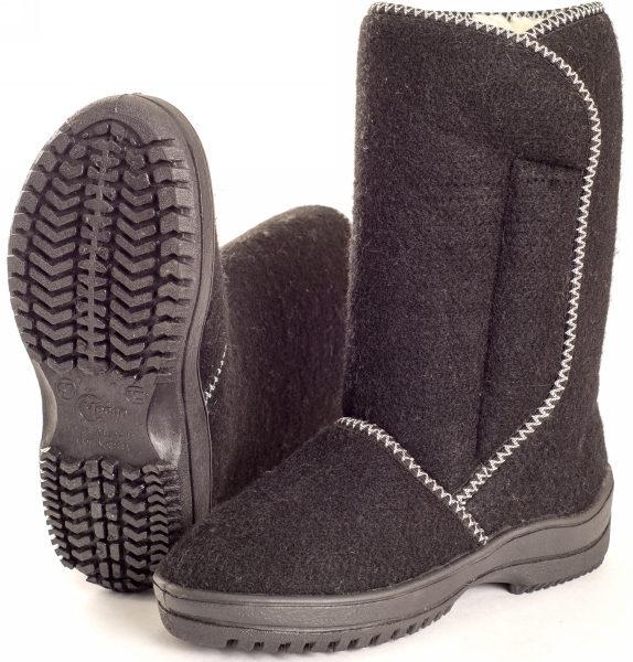 женская войлочная обувь